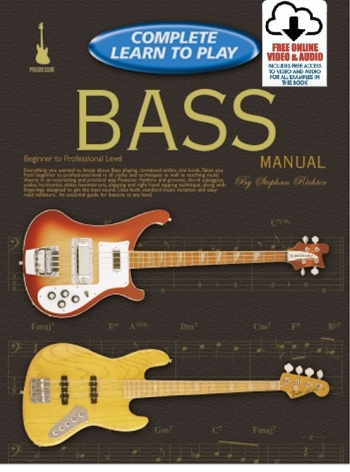 Complete Learn To Play: Bass Guitar: Book & Audio