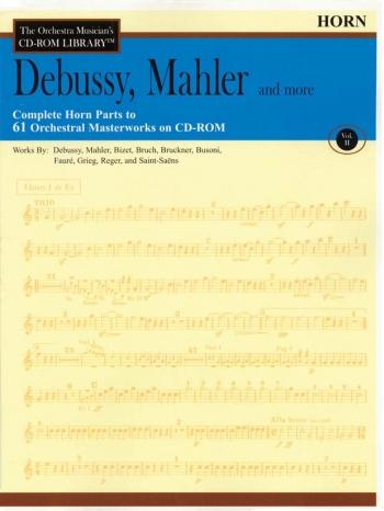 Orchestra Cd Rom Libarary: Horns: Vol 2: Debussy, Mahler