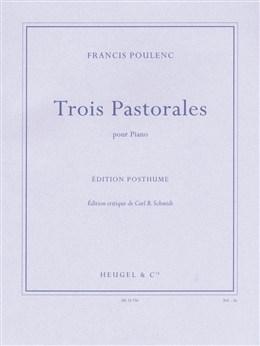 3 Pastorales: Piano Solo