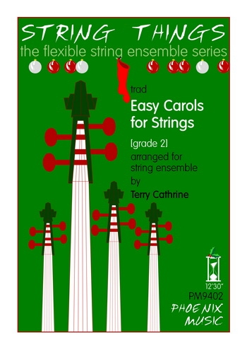 String Things - Easy Carols - String Ensemble - Score and Parts - Grade 2