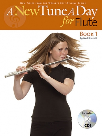 New Tune A Day: Flute: Book 1: Book & CD (Bennett)