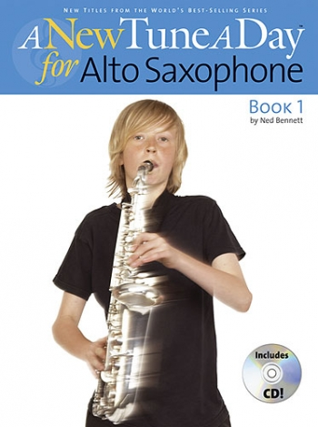 New Tune A Day Alto Sax Book 1: Book & Cd (bennett)