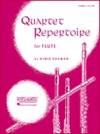 Quartet Repertoire: 4th Flute: Flute Quartet
