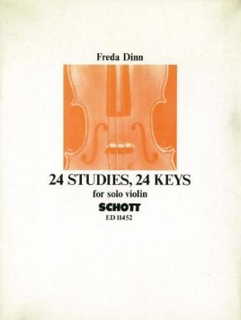 24 Studies 24 Keys: Violin