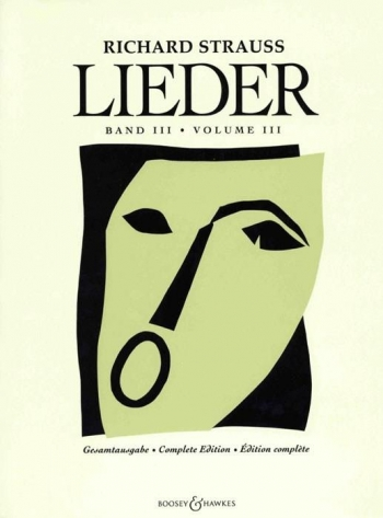 Leider Vol.3: Voice & Piano Opus 69 - Opus 88 (B&H)