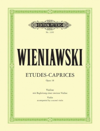 Etudes Caprices: Op18: Two Violins