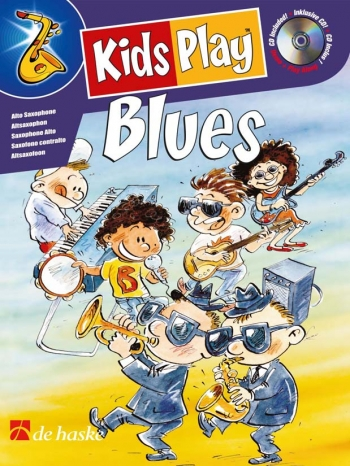 Kids Play Blues: Alto Sax