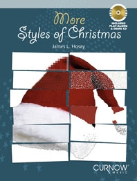 More Styles Of Christmas: Clarinet: Book & CD