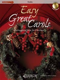Easy Great Carols: Violin: Book & CD