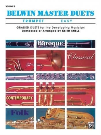 Belwin Master Duets Vol.1 Trumpet Duet Easy