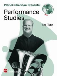 Patrick Sheridan Presents: Performance Studies: Tuba Bb - Bass Clef & Treble Clef  Book & CD
