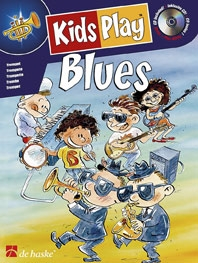 Kids Play Blues: Clarinet: Book & CD