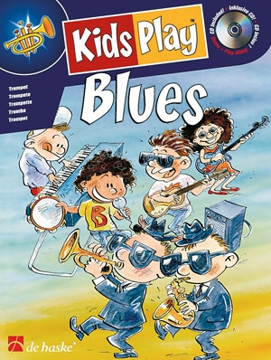 Kids Play Blues: Flute: Book & CD