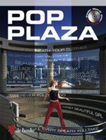 Pop Plaza: Flute: Book & Cd