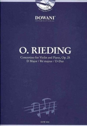 Concertino D Op.25: Violin & Piano: Book & Cd (Dowani)