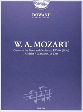 Concerto: A Major: Kv414: Reduction for Piano and Orchestra: Piano (Dowani)