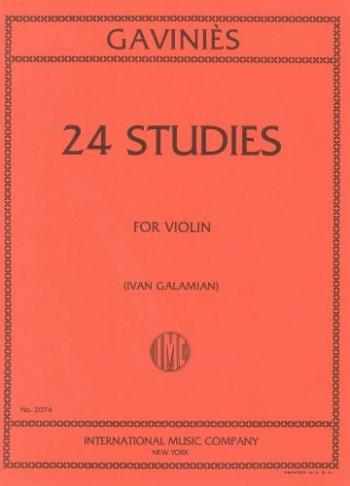 Studies: Violin