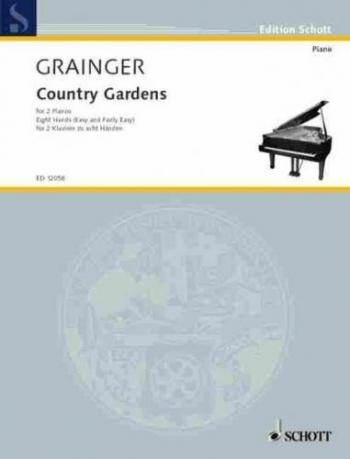 Country Gardens: 2 Pianos Eight Hands