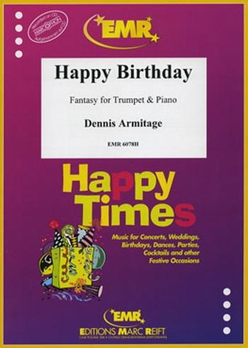 Happy Birthday: Trumpet and Piano