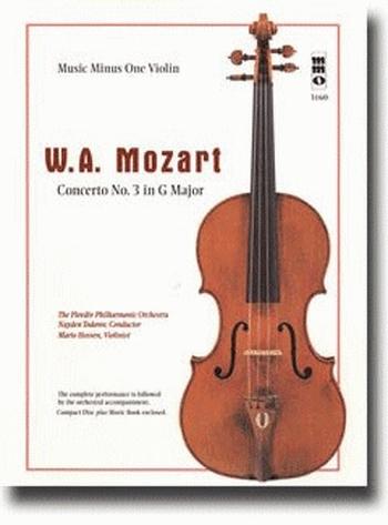 Violin Concerto No.3 Kv216: Gmajor: Book & Cd (MMO)