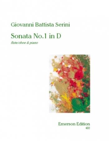 Sonata No1: D for  Flute  (Emerson)