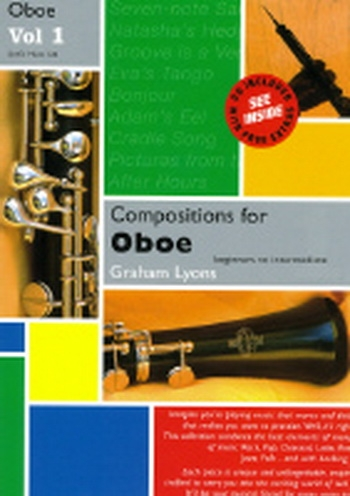 Compositions For Oboe: Vol.1 Book & Cd (Spartan)