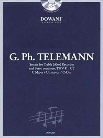 Sonata: C Major: Twv41: Treble Recorder and Basso Continuo (Dowani)