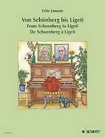 Schoenberg To Ligeti: Easy Piano Pieces 20thcent: Piano (Schott Ed)