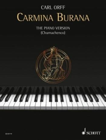 Carmina Burana: Piano (Schott Ed)