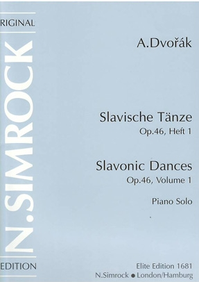 Slavonic Dances: Op.46: Vol1: Piano