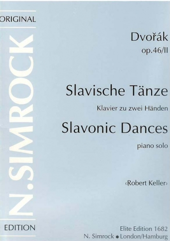 Slavonic Dances: Op.46: Vol.Ii: Piano