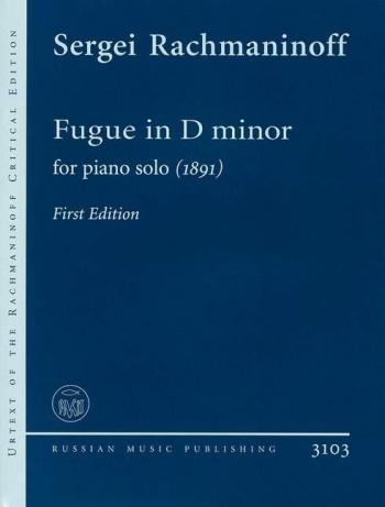 Fugue In D Minor: Piano (B&H Ed)