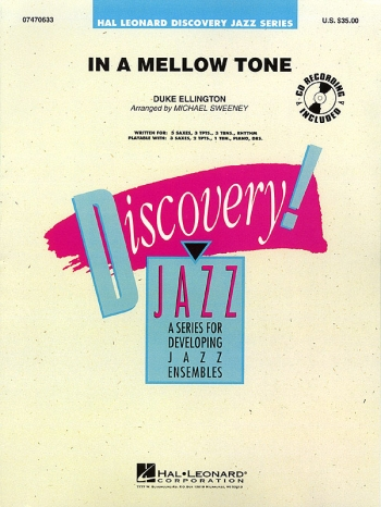 Discovery Jazz: In A Mellow Time: Big Band Score & Parts
