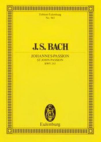 St John Passion: Bwv245: Miniature Score