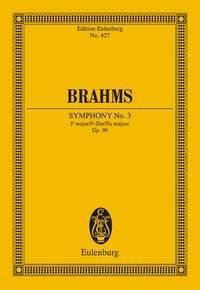 Symphony No.3: F Major: Op90: Miniature Score