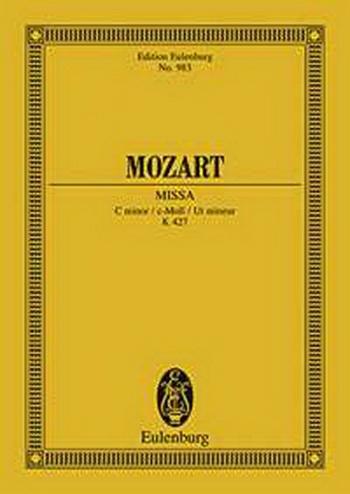 Mozart: Missa C Minor: Miniature Score