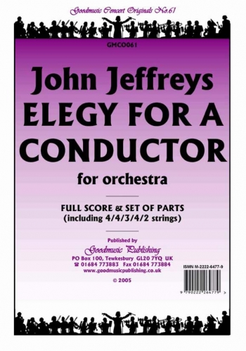 Orchestra: Jeffreys Elegy For A Conductor Orchestra Score And Parts