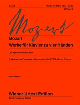 Works For Piano: 4 Hands  (Wiener Urtext)
