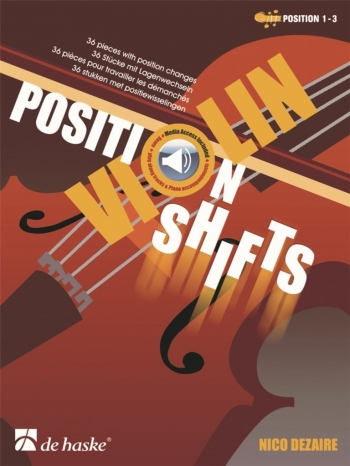 Position Shifts: Violin Book & Cd (Dezaire)