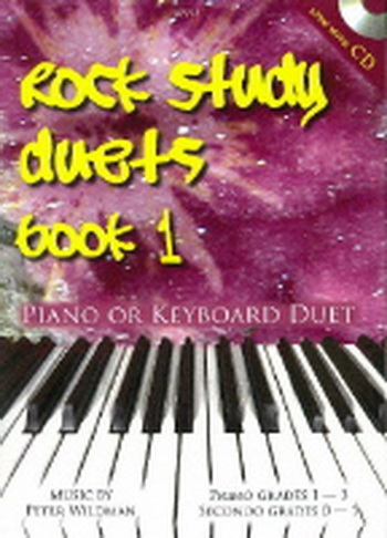 Rock Study Book Duets: 1: Piano and Keyboard