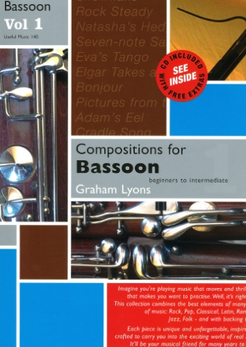 Compositions For Bassoon Vol.1 Book & CD (Graham Lyons)