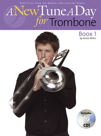 New Tune A Day: Trombone Bass Clef Book & Cd (miller)