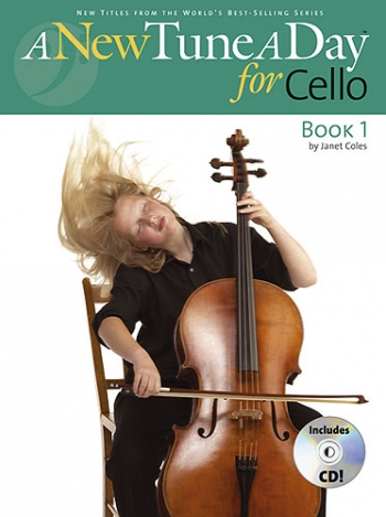 New Tune A Day Cello: Book 1: Book & CD (Coles)