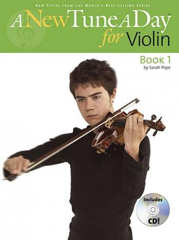 New Tune A Day: Violin Book 1: Book & Cd  (bennett)