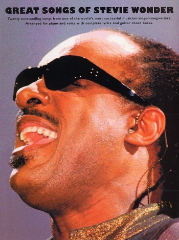 Stevie Wonder: Great Songs Of: Piano Vocal Guitar