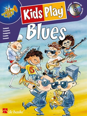 Kids Play Blues: Trumpet: Bk&cd