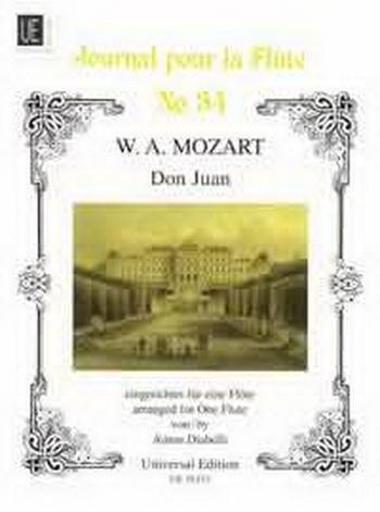 Don Juan: Solo Flute: Partita A Min and Sonata C Maj: Bwv 1013 and1033 (Universal)