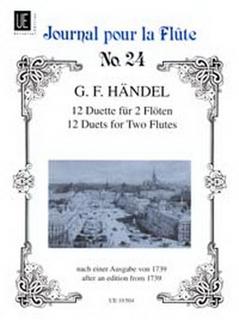 12 Duets For 2 Flute