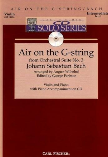 Air On The G String: Violin & Piano Book & Cd (Carl Fischer)