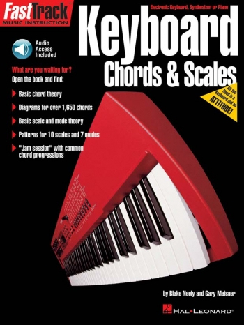 Fast Track: Keyboard: Chords And Scales Book & CD